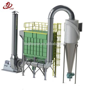 Le ciment travaille le collecteur de poussière de sac d'impulsion simple