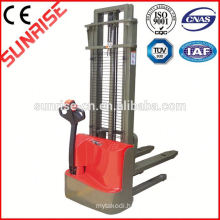 1ton Economic battery power stacker electric stacker MBD-100/16 lift 1600mm