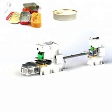 Línea de producción de cajas de velas de latas de metal