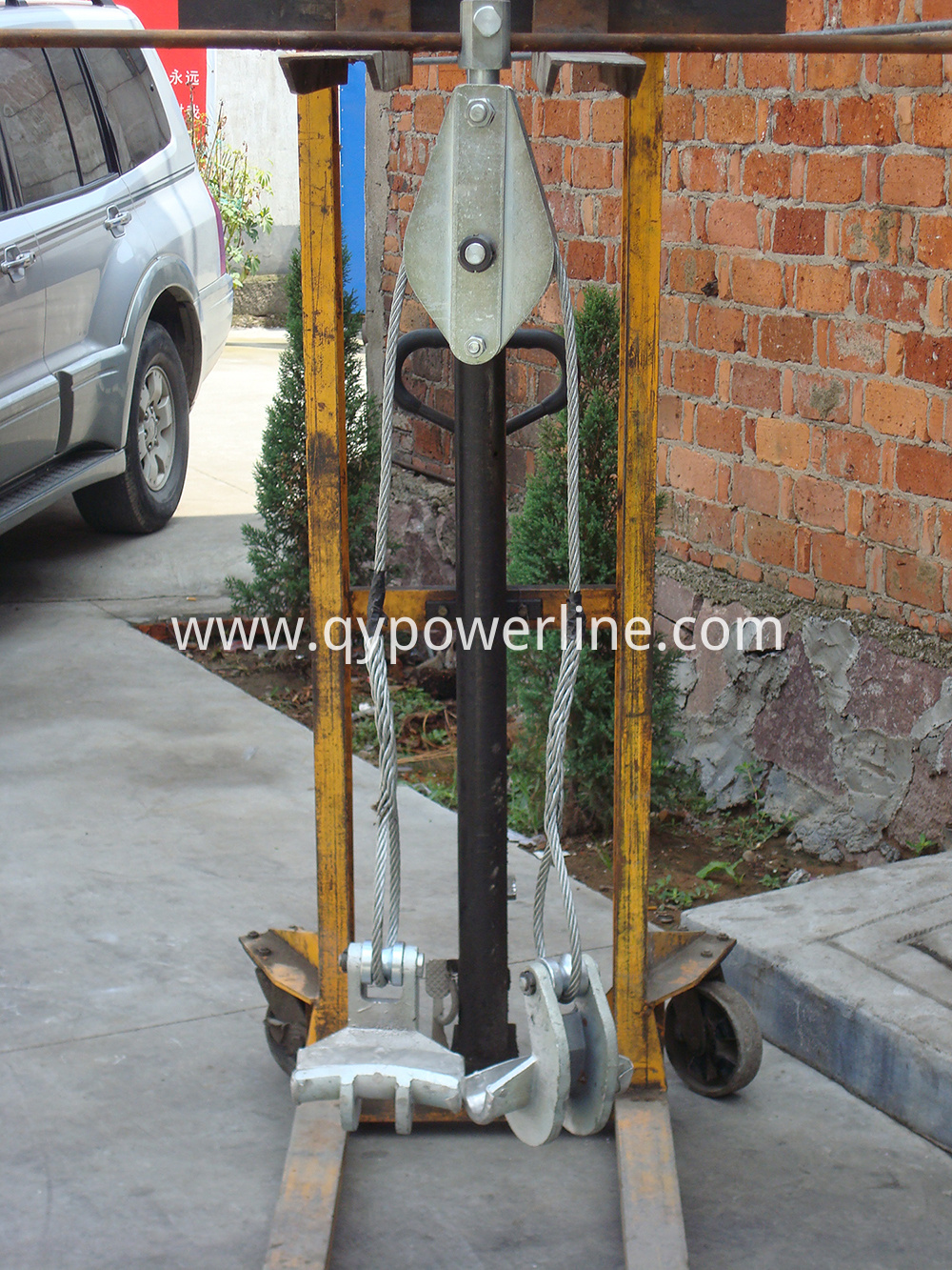 Two bundle conductor lifter