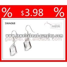Swarovski earring silver earring crystal earring
