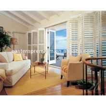 manual control pvc blade shutter on selling
