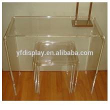 morden salon acrylique table basse