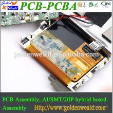 Conjunto de PCBA com ENIG para produtos de LED protótipo pcb montagem eletrônica pcba