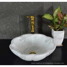 85 projetos populares esculpida cozinha Stone Sink com ótimo preço