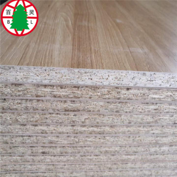 OSB boards laminated with melamine paper