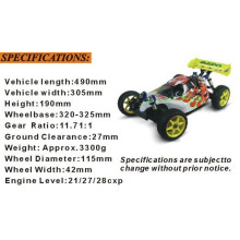 Hsp94081 1/8 Nitro Off Road RC 4X4 Buggy à vendre