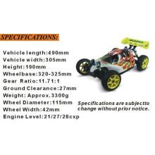 Hsp94081 1/8 Nitro off Road RC 4X4 Buggy para Venda