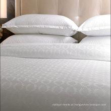 Jogos extravagantes da folha de cama do algodão do jacquard (DPFB8034)