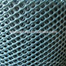 Redes planas de plástico extruido / malla de plástico flexible / sericulture mesh
