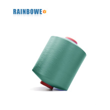 2017 ACY fil 2030 / 24F polyester air recouvert de spandex pour faire des chaussettes
