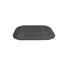 Cast iron griddle bbq