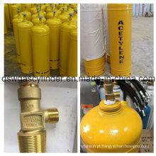 China Produzir 40L Acetileno Cilindro De Gás