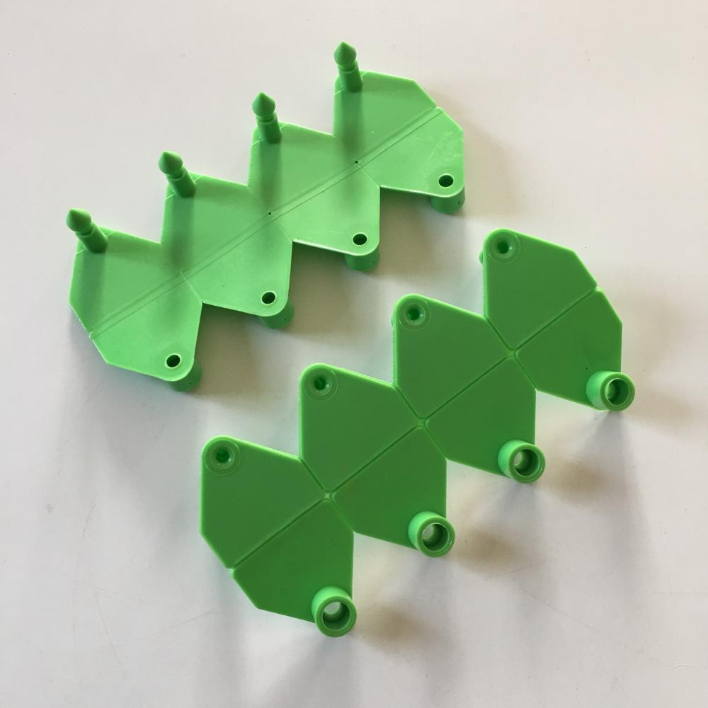 Low cost plastic printed flag animal sheep ear tag for animal managment
