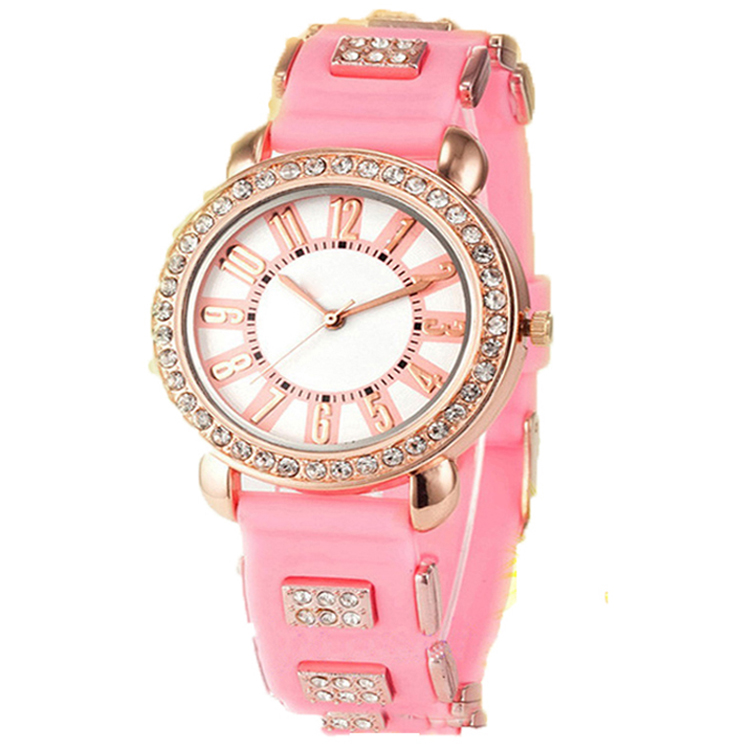 Wholesale Women Silicone Strap Watch