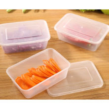 PP Square Disposal Food Container 1000ml Microwave Disposal