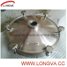 Stainless Steel Manhole Cover with Flange Sight Glass