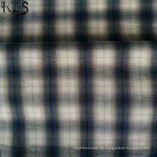 100% Baumwolle Popeline gewebt Garn gefärbt Stoff für Shirts / Kleid Rlsc40-46
