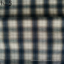 Tissu 100% tissé par fil de Poplin de coton teint pour des chemises / robe Rlsc40-46