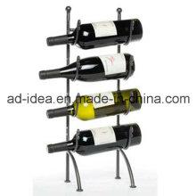 Suporte de Rack de Metal de Design Simples de Quatro Camadas / Suporte de Exposição