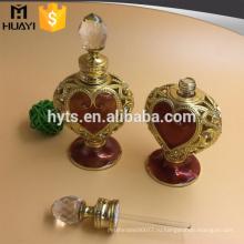 Арабские роскошные формы сердца стеклянный 10 мл эфирное масло бутылки