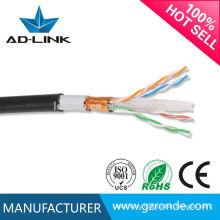 Cable ethernet al aire libre de la chaqueta doble del par retorcido del precio bajo