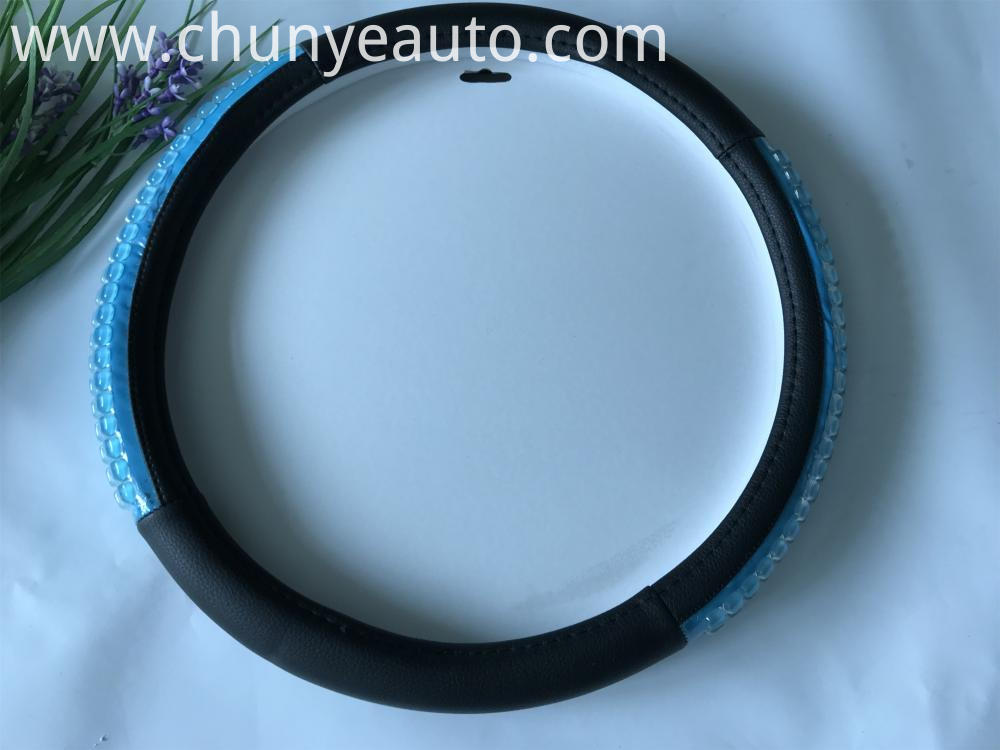 pvc beads steering wheel cover