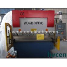 Pequeña máquina CNC de plegado Precio WC67K-30T / 1600