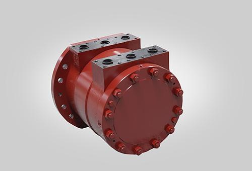 white hydraulic motors