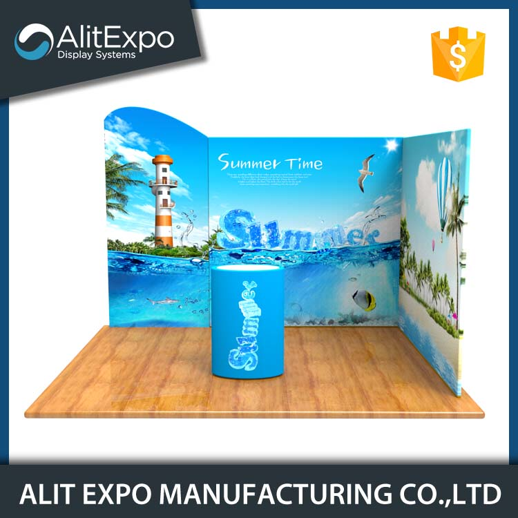 Affordable easy set up custom trade show booth