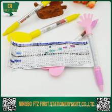 2 in 1 Werbung Cute Kalender Pen