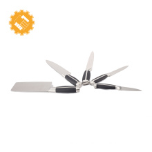 Gold coast la sera cookware black kitchen utensil line switzerland knife set chef supplies camping