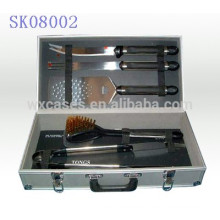 strong&portable aluminum tool box for BBQ tools