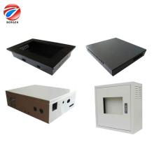 Cajas de caja de aluminio de chapa OEM