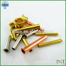 haute qualité chaude vendre rivets tubulaires métalliques en laiton
