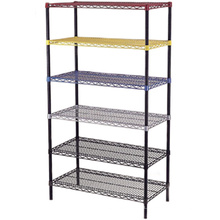 CE and ISO approved metal wire shelf rack Retail Display Steel Wire Shelving Collapsible Wire rack