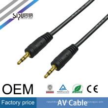 SIPU buena calidad 3.5mm av sexo vidoes cable cable al por mayor mejor precio macho a macho av cable
