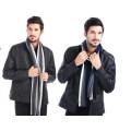Men Winter Classical Striped Men′s Wool Scarf (82020)