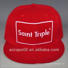 Correa de cuero snap back hat