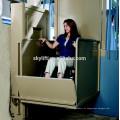 Elevador casa pequena para pessoas com deficiência e idosos