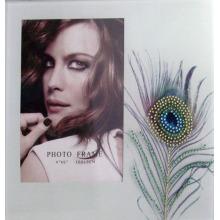 Мода 4 x 6 дюймов стекла фото рамка