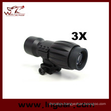 3X 28mm Magnifier Scope for Aimpoint Eotech W/Qd Mount