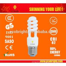 SKD T2 11w половину спиральные энергосберегающие света 10000H CE качества