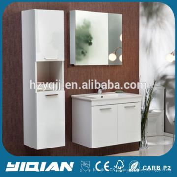 Cabinet supérieur en céramique avec miroir Cabinet de cabinet de médecine Cabinet de salle de bains moderne en suspension