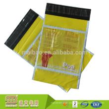 Venta al por mayor de la muestra libre del color de encargo del diseño de la marca impresa Poly Mailers Postal envolvente bolsas de envío