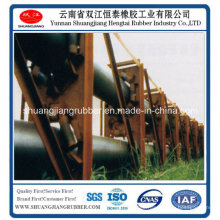 Tubular Rubber Conveyor Belt für kleine Materialien mit hoher Elastizität
