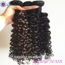 Les cheveux bouclés russes vierges de vente en gros brésiliens de cheveux de la vierge 8A de catégorie