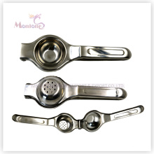 7 * 21cmcm cuisine outils en acier inoxydable manuel orange / fruit / citron presse-agrumes
