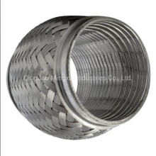 Double Layers Braid Exhaust Flexible Pipe for Automobile