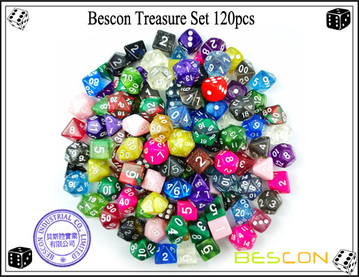 Bescon Treasure Set 120pcs-1